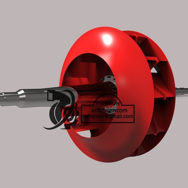 Backward Curved Impeller For Blowers and Fans
