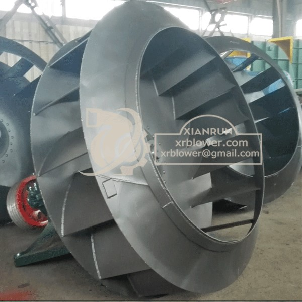 3000 cfm High Corrosive Fans for Chemical Plant