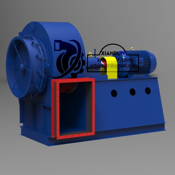 High Temperature Centrifugal Fans for Cement Plant