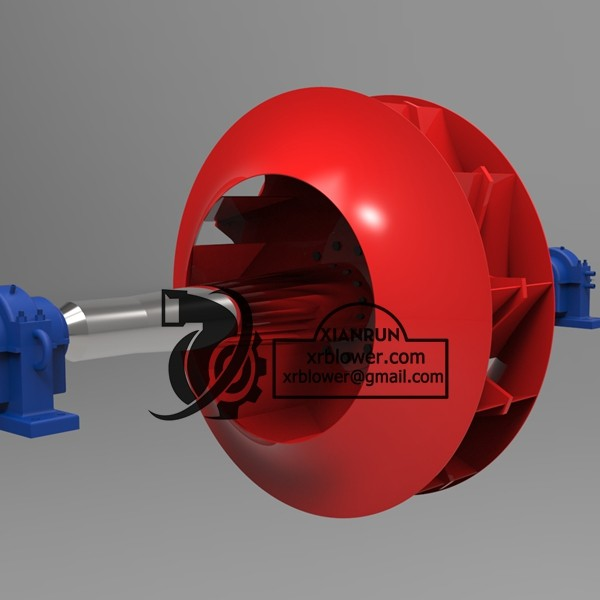 New Design Industrial Radial Fans for Boilers