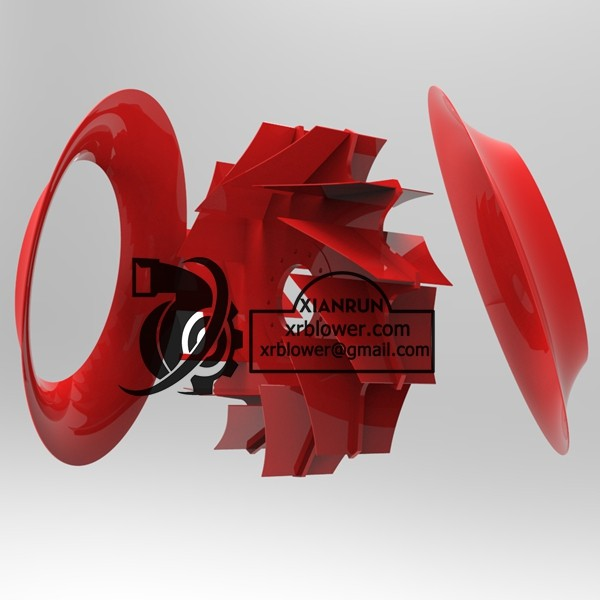 High Capacity Double Suction Fans for Power Plant