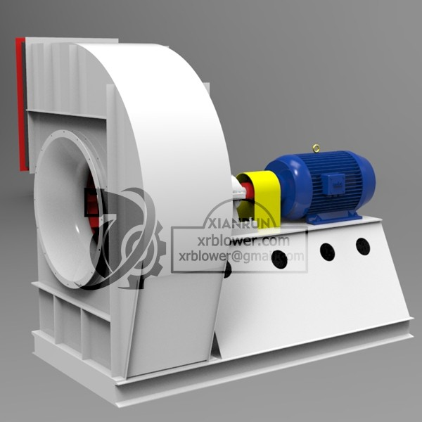 High Capacity Single Suction Fans for Cement Plant