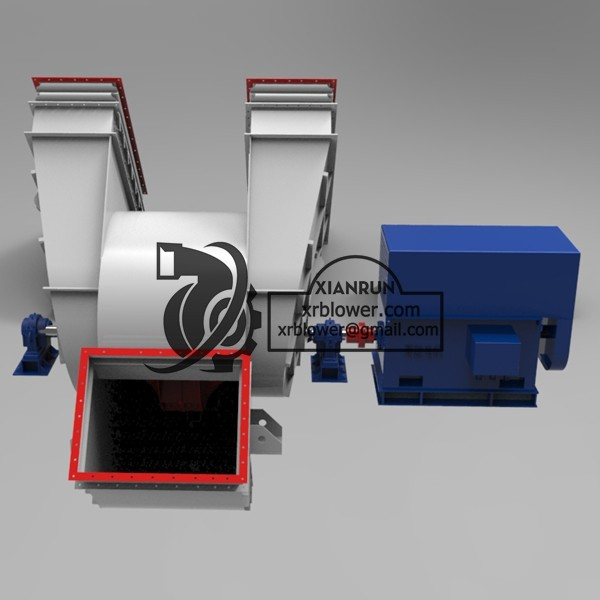 High Temperature Fan for Cement Rotary Kilns