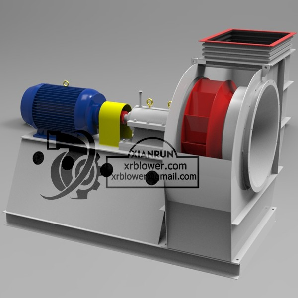 Coupling Driving ID Fan for Cement Plant